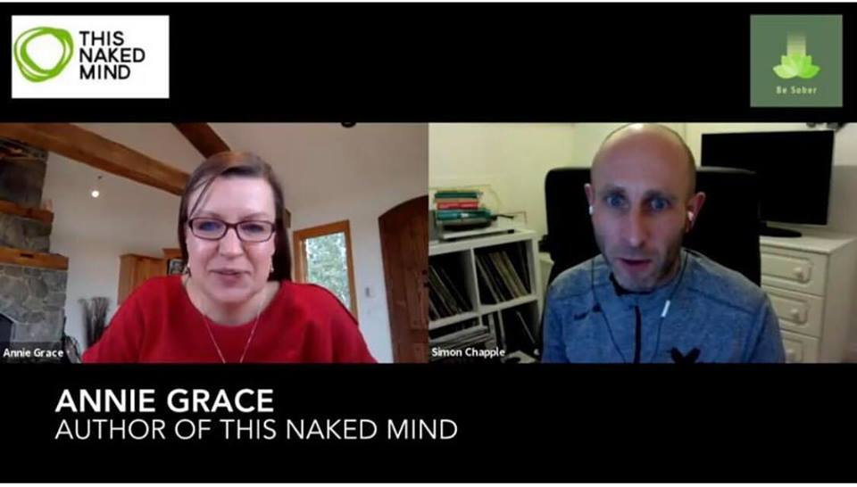 Simon Chapple Interview with Annie Grace from This Naked Mind