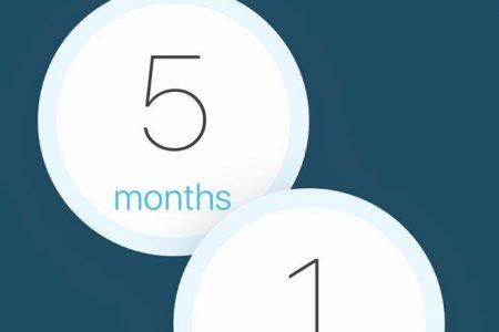 5 months sober
